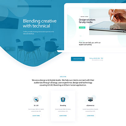 Agency divi layout