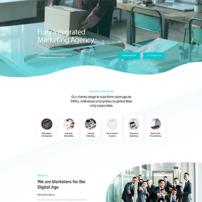 Marketing divi layout