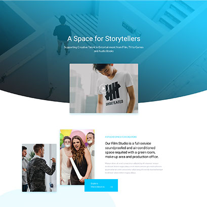 Studio divi layout