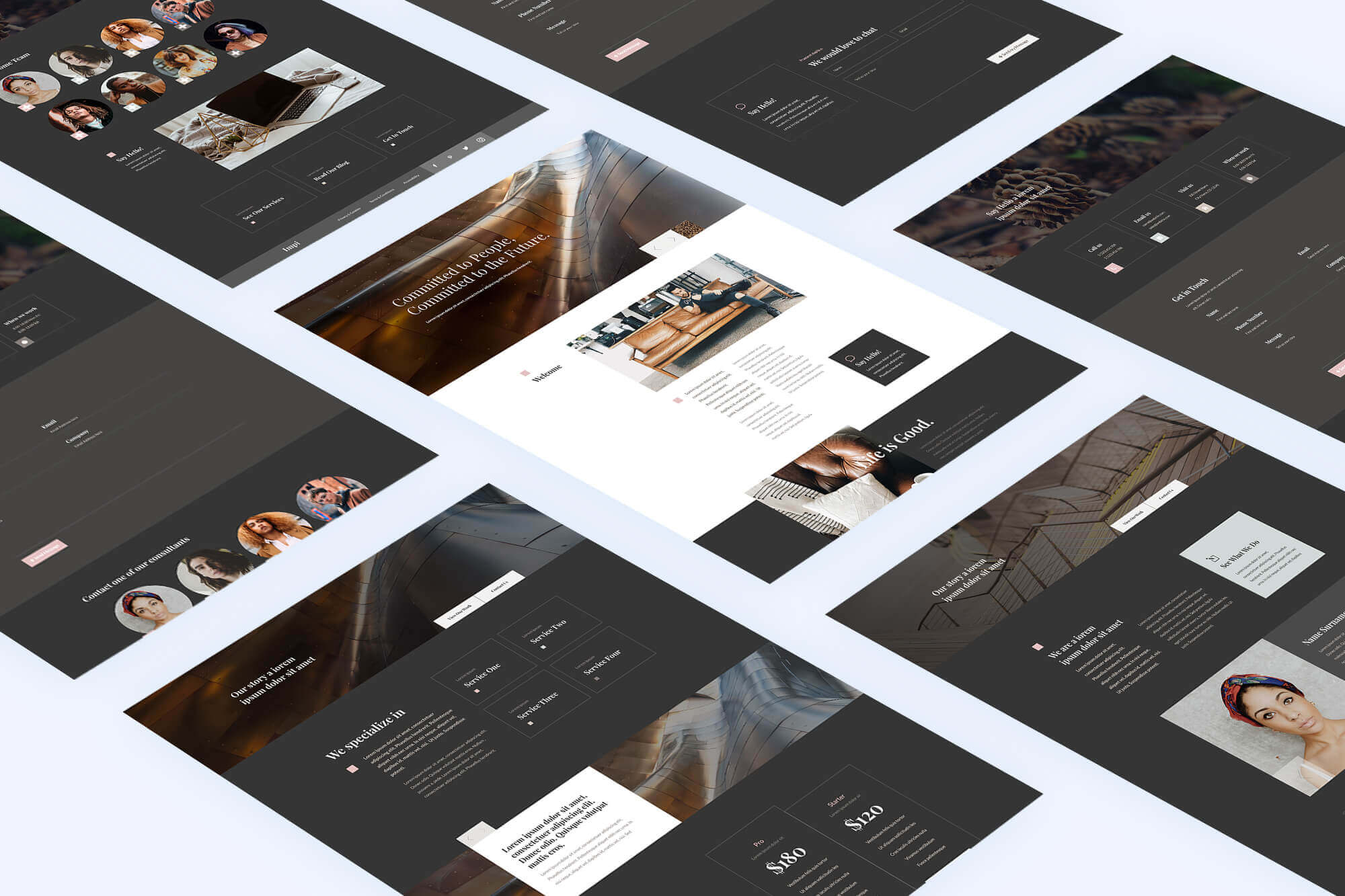 39 new Divi modules + 10 new Divi page layouts added to the Divi Den Pro library