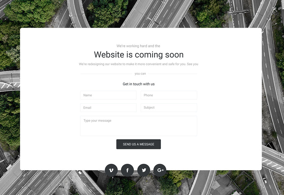 Brand New For 2019 – Cool Coming Soon Pages & 4 Homepage Layouts