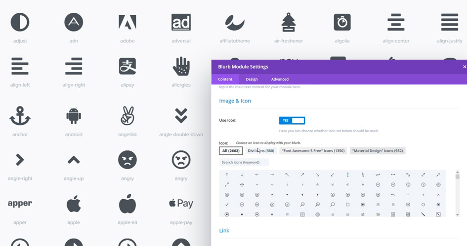 How to add more icons to Divi Theme and Divi Builder
