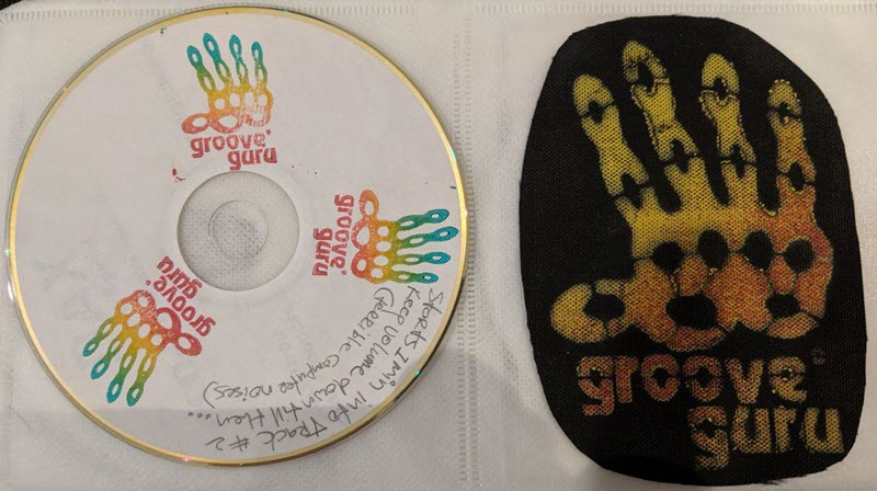 Picture of DJ Groove Guru's Logo and Demo CD