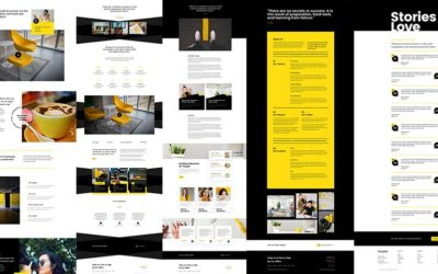 10 x Divi Inside Page Layouts - About, Testimonials and Contact pages by Divi Den Pro and Wp Den