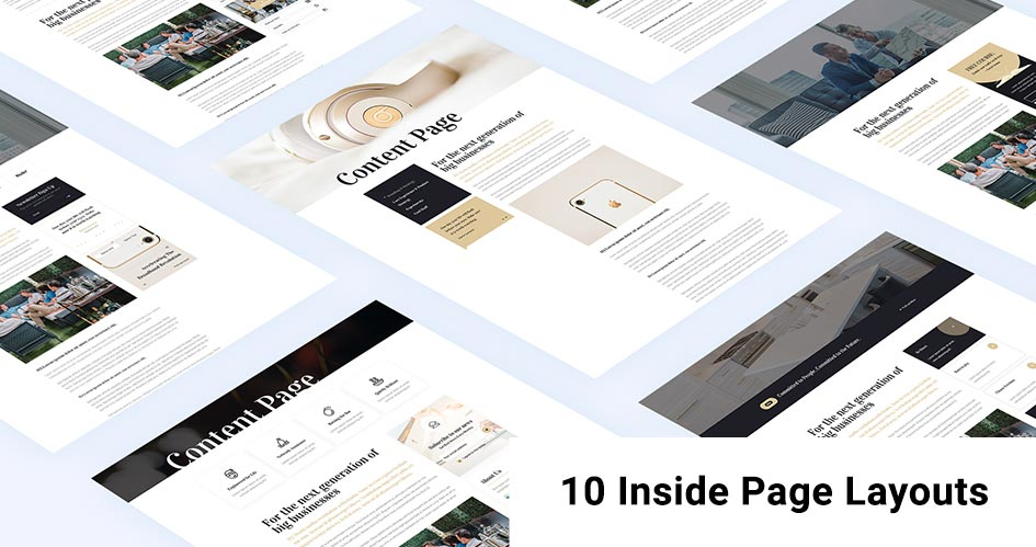 10 Handy Inside Page Layouts for Divi Theme