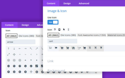 Adding custom Divi icons is a standard feature included with the Divi Den Pro plugin