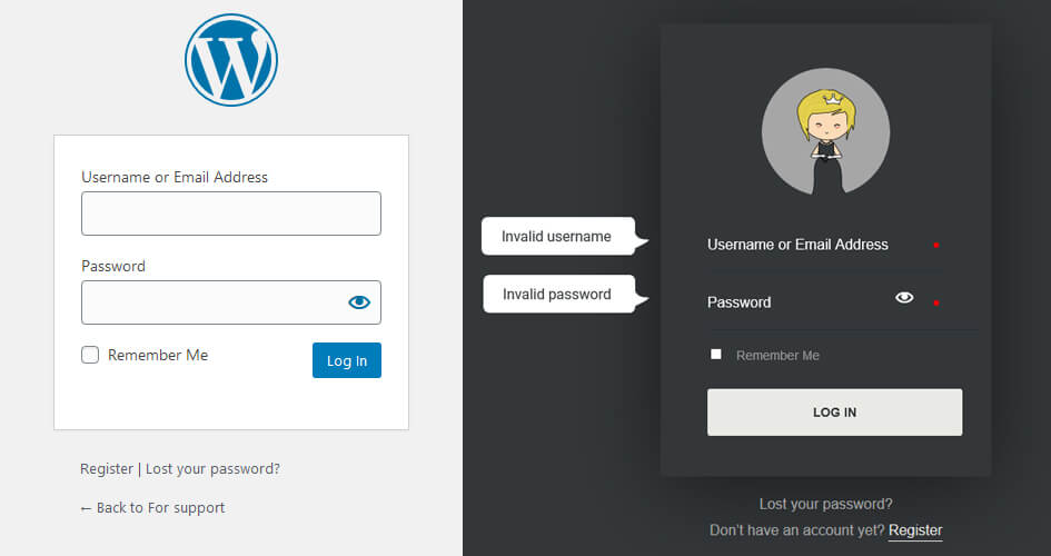WordPress Login Page Templates You Can Customise With Divi Theme