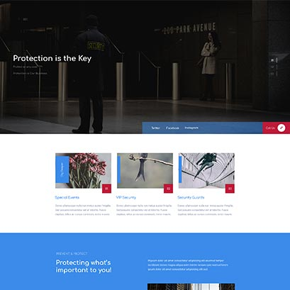divi security homepage